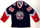 WAYNE GRETZKY NEW YORK RANGERS LIBERTY CCM VINTAGE JERSEY NEW WITH TAGS