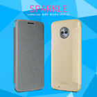 Genuine Nillkin Sparkle PU Leather Flip Cover PC Case For Motorola Moto G5 /Plus