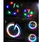 Bikes Bicycle Cycling Spoke Wire Tire Tyre Wheel LED Bright Light Lamp