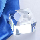 Square Dimple Blocks Crystal Ball Display Stand Holder For Galss Sphere Stones
