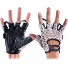 Mens Weight Lifting Gloves Gym Workout Body Building Fitness Exercise Training