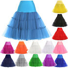 Hot Retro Short Petticoat Bridal Dance Underskirt Vintage Skirts Crinoline Slips