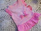 MOMMY'S LITTLE ANGEL Dog Dress new pet S puppy Glamour to the bone pink small