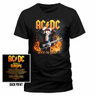 AC/DC T-SHIRT HIGHWAY TO EUROPE WITH TOURDATES 2015/2016 SIZE M,L,XL,XXL NEW