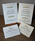50 Personalised Wedding Day/Evening invitations/Renewal of Vows with RSVP/Reply