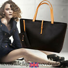 Fashion Womens Tote Bag Ladies Faux Leather Shoulder Handbag Messenger Purse New