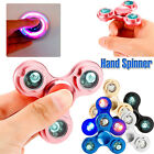 Anti-stress EDC toy Fidget Hand Spinner Tri Fidget Focus Tool Desk With LED Gift
