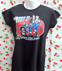 Ladies Burn Up Rockers Tee Shirt, T.Shirt, Vince Ray, Ford Consul, Rockabilly