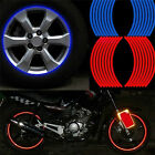 Stylish Universal Car Bike Motorcycle Rim Reflective Decal Tape Wheel Sticker