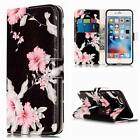 Magnetic PU Leather Wallet Flip Case Cover For Apple iPod Touch 5th 6th iPhone 6