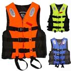 Kids Childrens Adult Life Jacket Rescue Vest in Size S M L XL XXL