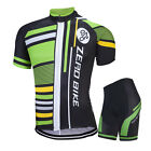 Mens Cycling Jersey Shorts Set Outdoor Cycling Clothing Bike Jersey Set MTB Wear