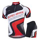Men's Ciclismo Bike Racing Clothing Outdoor Cycling Jersey & Shorts Set / Kits