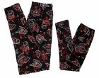 Внешний вид - Mommy And Me Leggings Butterfly Print Black Red Women One Size Girls
