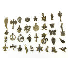 Wholesale Retro Style 50pcs Bulk Lots Mix Cute Charm Pendants Jewelry DIY Hot