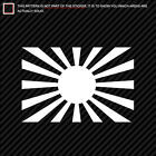 (2x) Rising Sun Flag Sticker Die Cut Imperial Japanese many colors