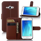 Slim Flip Leather Wallet Kickstand Case Cover For Samsung Galaxy J2 J3 Prime