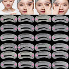 24 Styles Eyebrow Shaping Stencils Kit Brow Makeup Template Shaper Reusable Tool