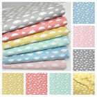 CLOUDS - 100% WOVEN cotton and KNIT JERSEY fabric FQ METRE OR BUNDLE all colours