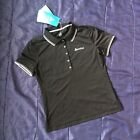 Womens ODLO Short Sleeve Polo Shirt Casual Active Ladies Top T-Shirt Size Small