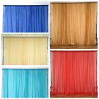 10ft x 10ft Sheer Voile Professional BACKDROP Window Curtains Drapes Panels Home