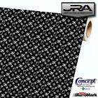 Hello Kitty Black Background Vinyl Car Wrap Film Decal Sheet Roll