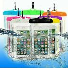 Waterproof Underwater Dry Pouch Bag Case Cover For iPhone Samsung Huawei LG HTC