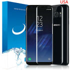FOR SAMSUNG GALAXY S8 PLUS FULL CURVED CLEAR TEMPER GLASS PHONE SCREEN PROTECTOR
