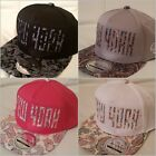NY kids snapback caps, paisley pink boys, girls flat peak baseball hats hip hop