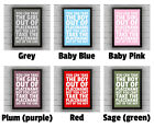 YARLEY - Somerset BOY/GIRL FRAMED WORD TEXT ART PICTURE POSTER