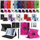 """ATL Leather 360 Rotating Smart Stand Case Cover For APPLE iPad 9.7"""" (2017) NEW"""