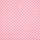 100% Cotton Fabric - 3mm Spot - Pink - Blender  - Rose & Hubble - Cut from Roll