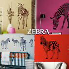 Zebra Wall Stickers! Transfer Graphic Decal Decor Stencil Large Art Sticker UK