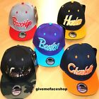 EXCLUSIVE SNAPBACK CAPS, FLAT PEAK BASEBALL FITTED HATS, RARE, RETRO, VINTAGE