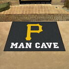Pittsburgh Pirates Man Cave Area Rug Choose from 4 Sizes