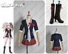 Danganronpa Dangan-Ronpa Junko Enoshima Cosplay Costume Shoes Boots Full Set A