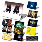 """Pokemon GO Painted Hard Rubberized Case Cover For New Macbook Pro Air 11"""" 13"""" 15"""