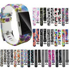 Replacement Wrist Band Silicon Strap Revenue Stamp Bracelet For Fitbit Charge 2