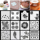 Lace Flower Cake Stencil Wedding Cake Cookie Fondant Border Side Decor Mould