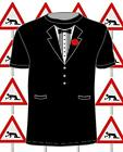"Excellent Wedding ""TUX"" t-shirts (black or white) Tuxedo, stag, party,night out"