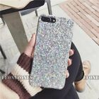 Luxury Bling Glitter Shockproof Soft Silicone Clear Case Cover For Samsung S7 S8
