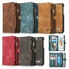 Flip Case Handy-Hülle zu Apple iPhone 6 / 6s - WALLET BOOK EINFARBIG SPALT-LEDER