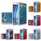 For Samsung Galaxy On5 G550 Liquid Glitter Shiny Water Design Hard Case Cover