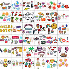 New Embroidered Patches Sew Iron On Fabric Bag Clothes Applique Craft DIY $1.39 USD