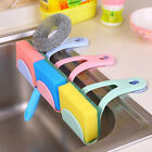 Kitchen Sink Sucker Drain Rack Suction Sponge Hanging Drain Holder Tray