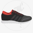 ADIDAS LOS ANGELES UOMO S79027 SNEAKERS ORIGINALS TRAINER CONTINENTAL NERO ROSSO