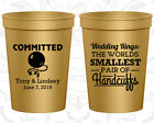 Personalized Wedding Gift Cups Custom Cup (500) Handcuffs, Ball And Chain