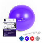 Yoga Studio Fitness Exercise Gym Exer Gymnastic Soft Core Workout Pilates Ball