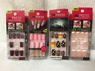 IMPRESS PRESS-ON MANICURE 24 NAILS - style choice  -  OVAL  / FRENCH / HALLOWEEN