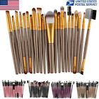 22PC Kabuki Make up Brushes Set Foundation Blusher Eye Shadow Eyeliner Lip Brush